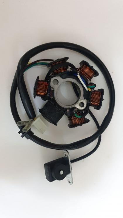 Stator GY6 125-150 4 T 6 poli