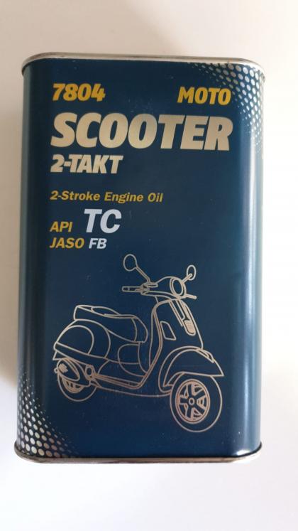 Ulei Mannol Scooter 2T