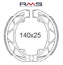 Saboti frana spate Piaggio Liberty 50cc 1997>/RMS 0560