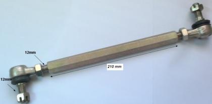 Bieleta directie 12/12mm