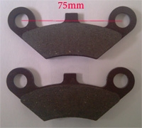 Placute frana (CF500, Linhai, Buggy etc) 1 set= 2 buc