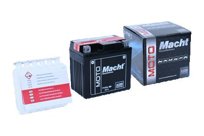 MACHT YTX5L-BS AGM(12V. 4Ah. 55A)