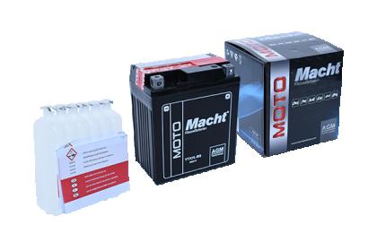 MACHT YTX7L-BS AGM(12V. 6Ah. 75A)