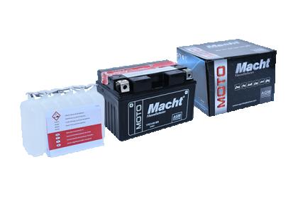 MACHT YTZ10S-BS AGM (12V. 8.6Ah. 130A)